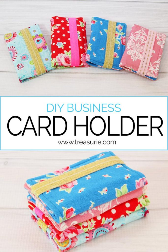 diy business card holder