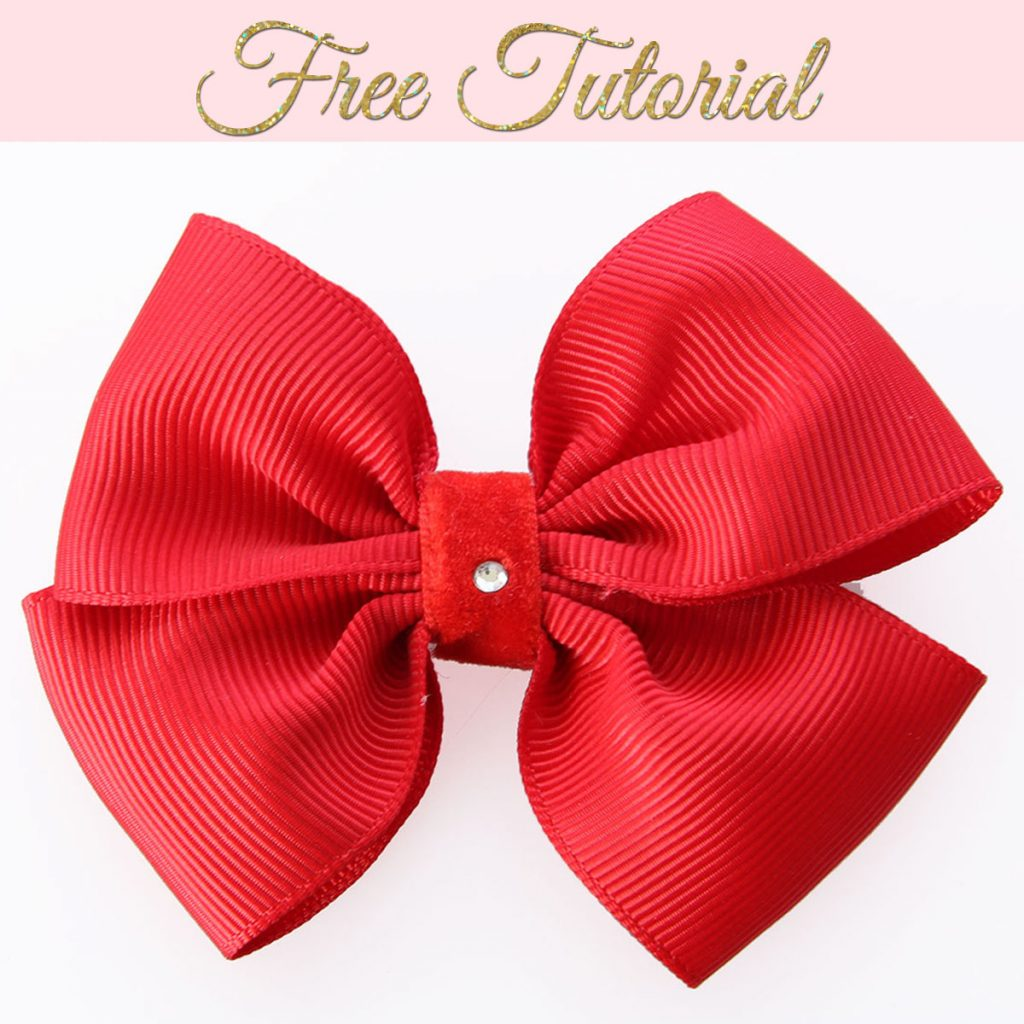 How to make ribbon bows