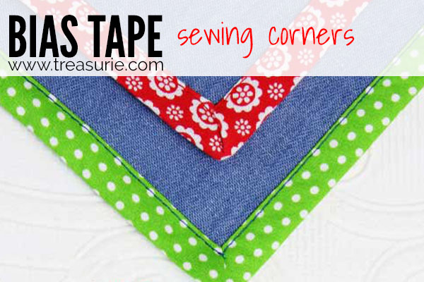 Sewing Bias Tape - Corners