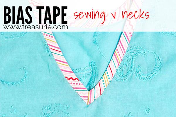 Sewing Bias Tape - Necks