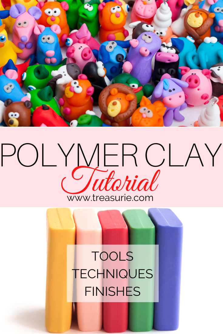 Polymer Clay Tutorial Where To Sart For Beginners Treasurie