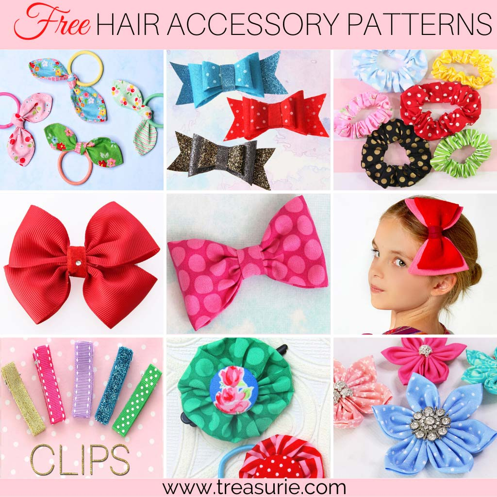 Sewing Projects for Beginners - Hair Accessories