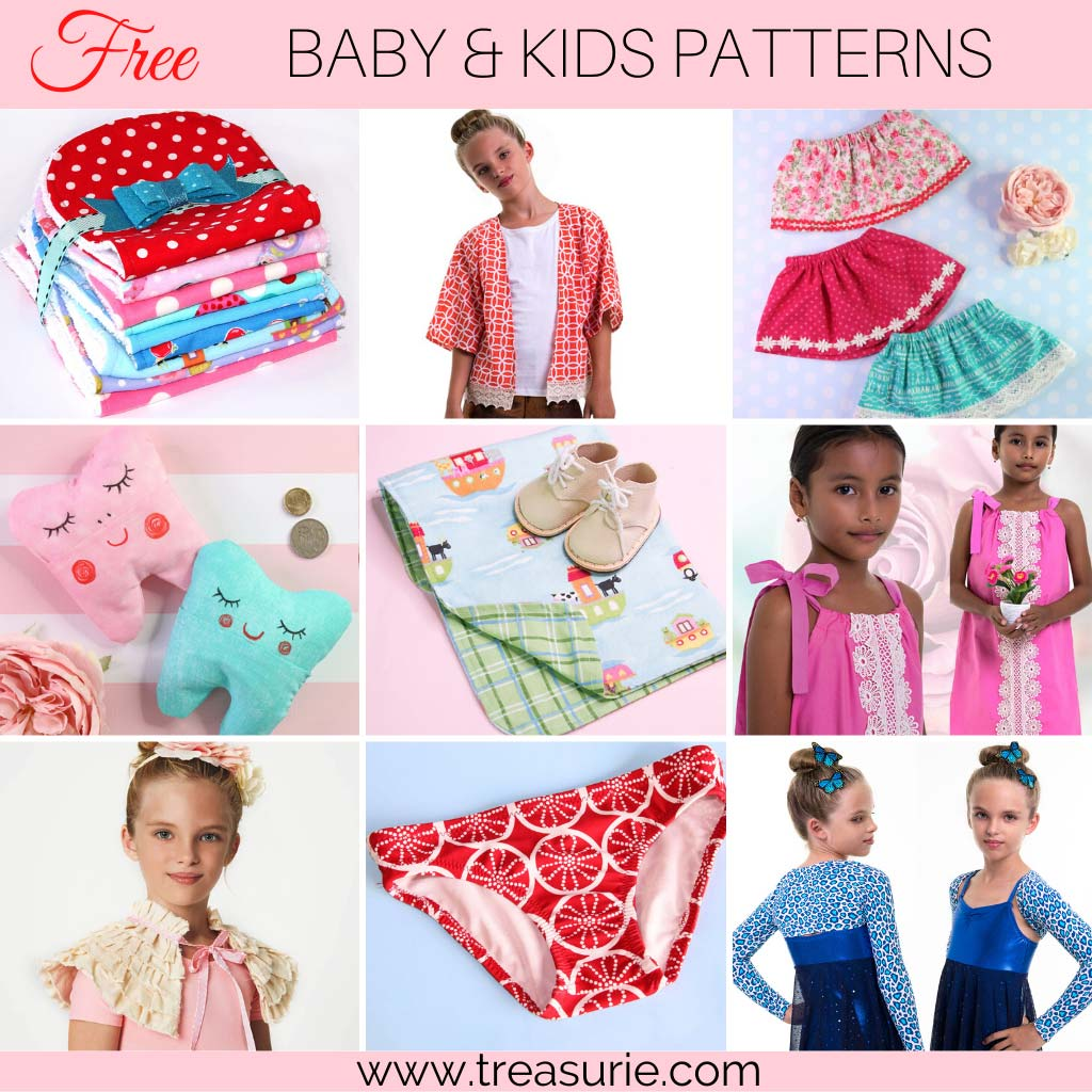 Sewing Projects for Beginners - Kids and Babies