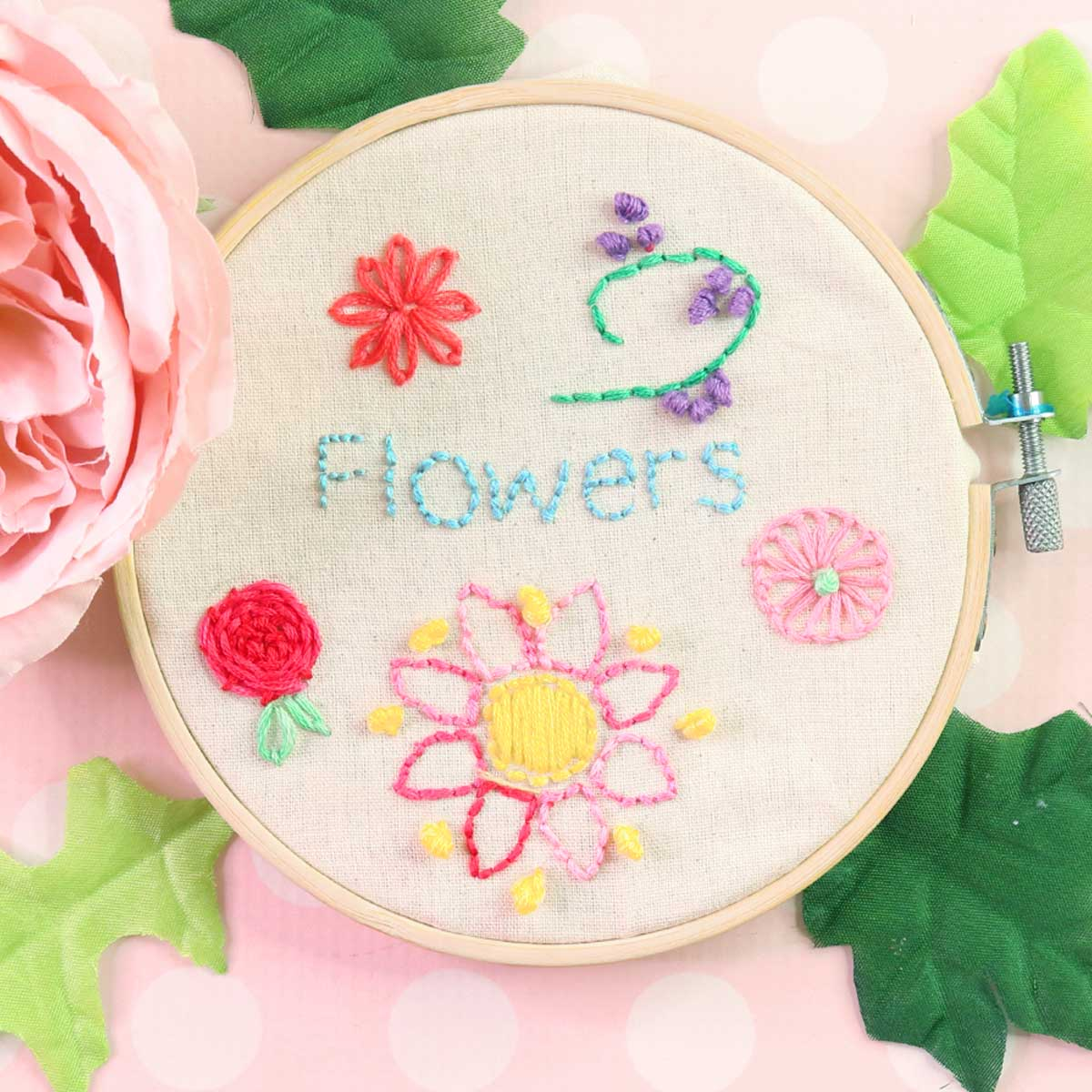 Embroidery Flowers The 14 Easiest For Beginners Treasurie,Unique Modern Sofa Set Designs For Living Room