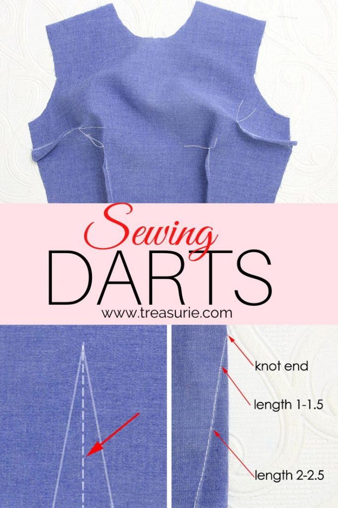 Sewing Darts, How to Sew Darts Easily