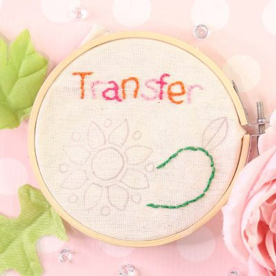 transfer embroidery