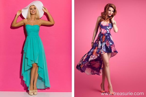 Types of Dresses - Asymmetrical