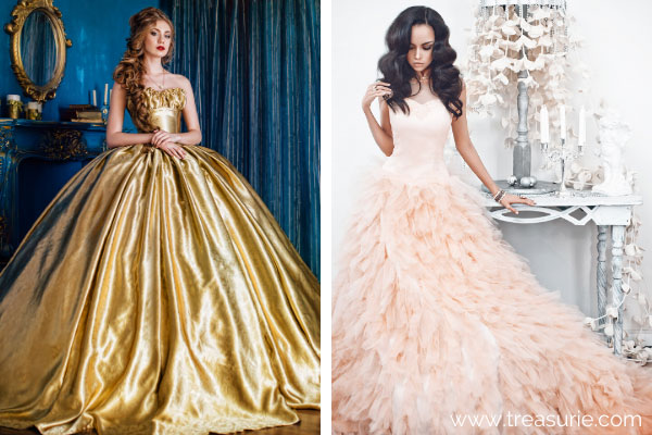 Types of Dresses - Ballgown
