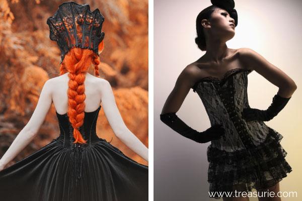 Types of Dresses - Corset