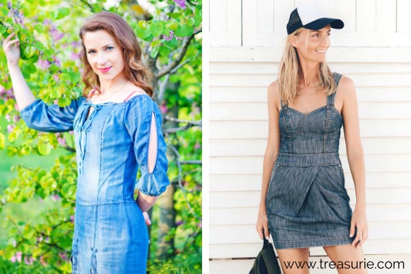 Types of Dresses - Denim