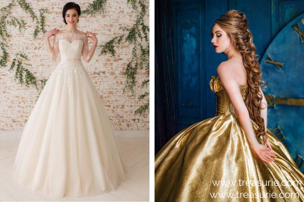 Types of Dresses - Princess