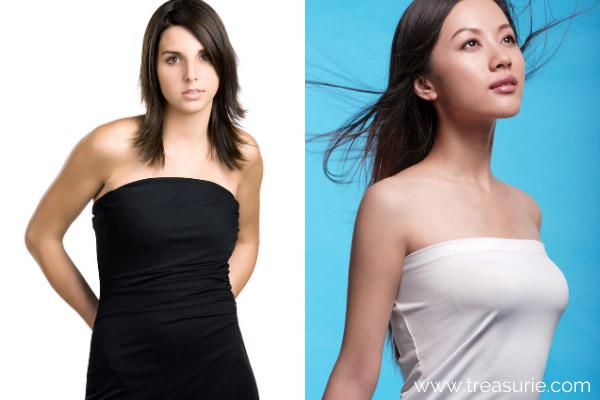 Types of Dresses - Tube