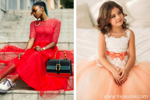 Types of Dresses - Tutu
