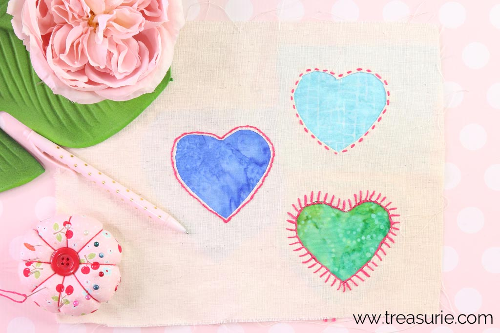 How to Sew a Patch with Reverse Applique