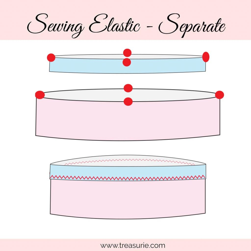 How to Sew an Elastic Waistband with Wide Elastic