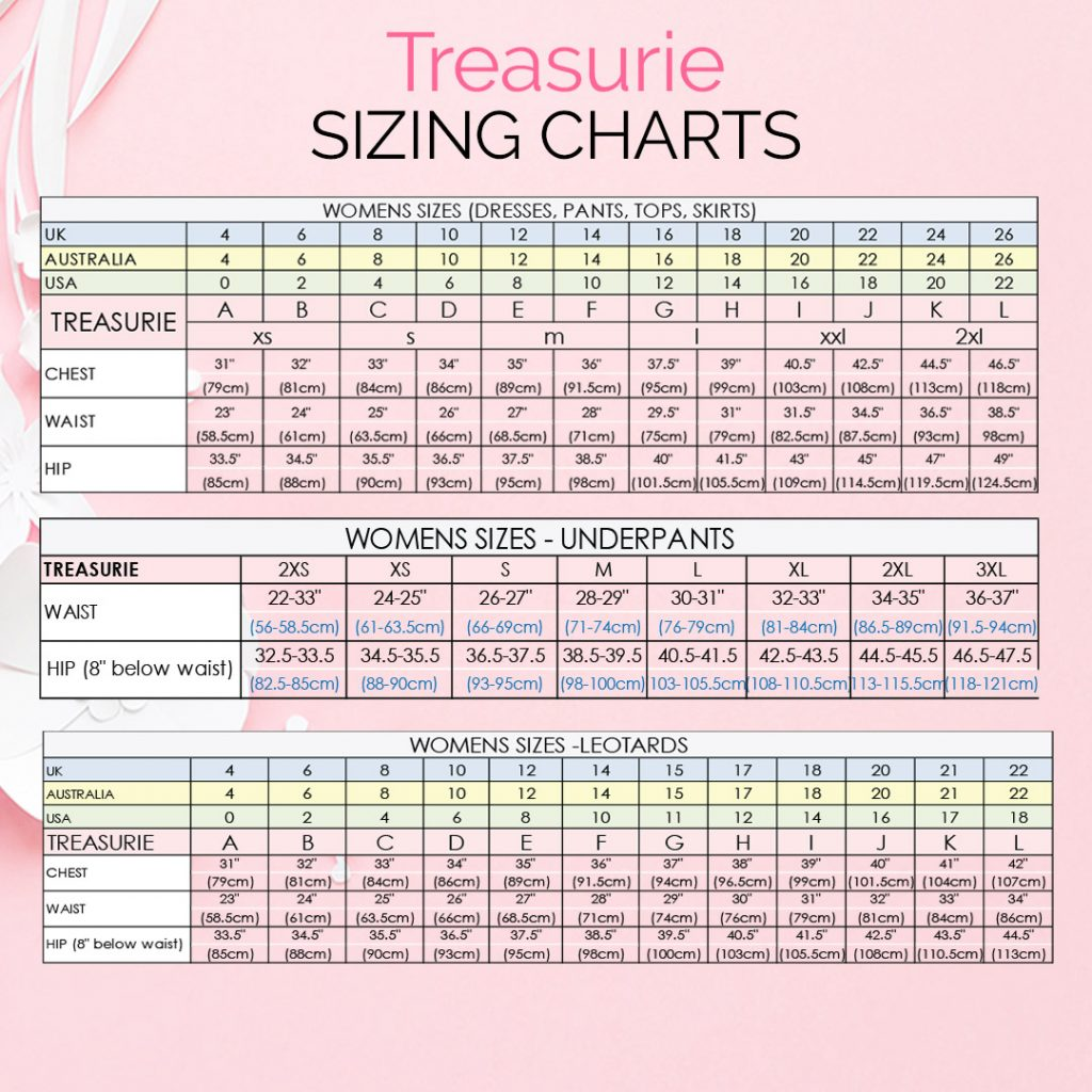 Sewing Measurements for Women