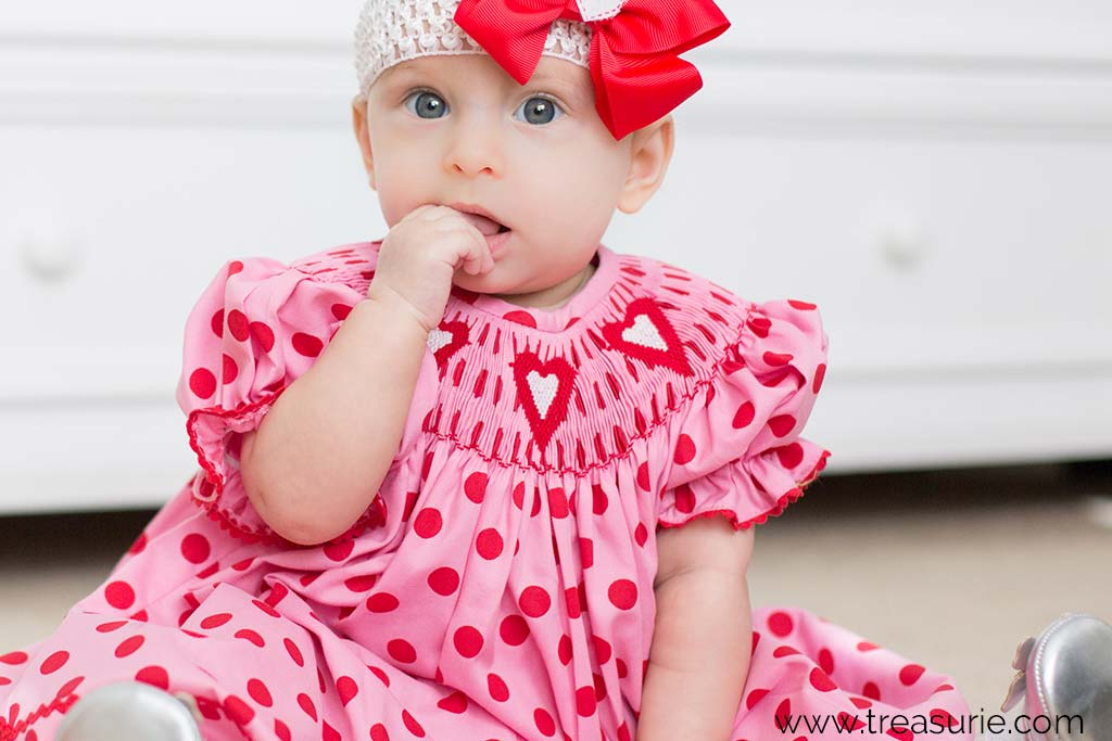 Baby Dress with Smocking