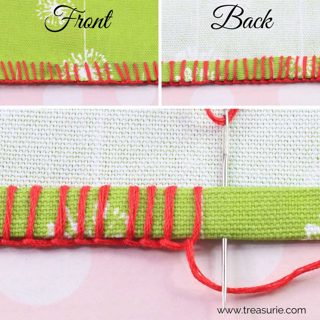 Hemming Stitch - Blanket Stitch