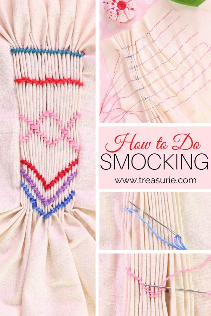 Smocking, How to do Smocking