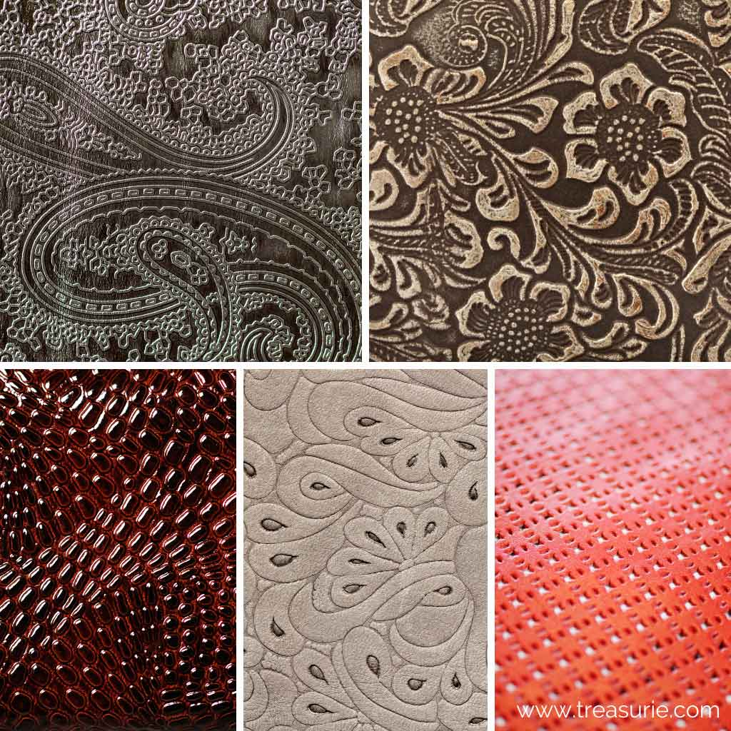 Embossed Types of Leather