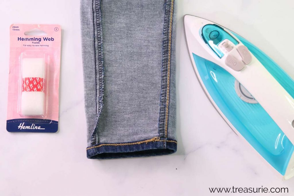 How to Use Hemming Tape