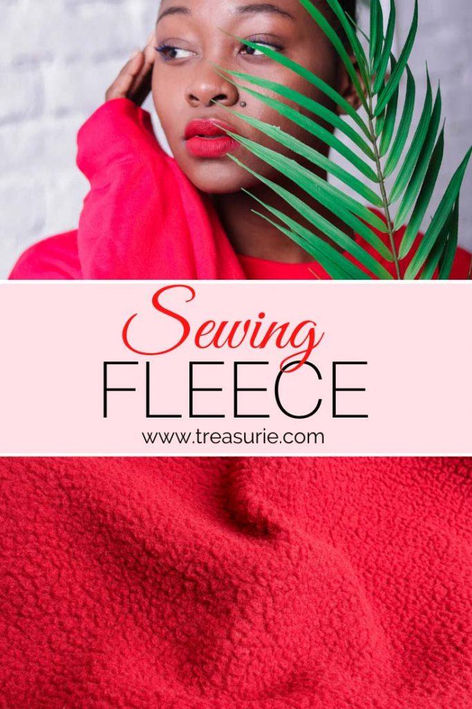 Sewing fleece