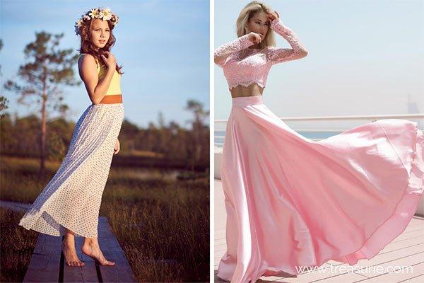 Maxi and Full Skirt Lengths