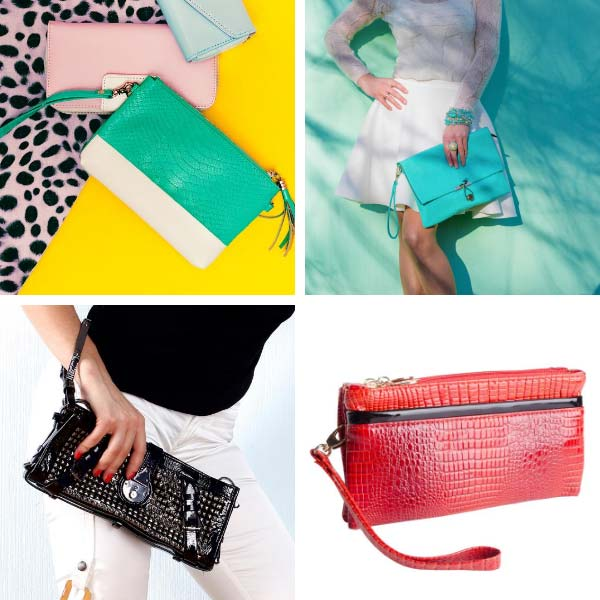 Types of Bags wristlet