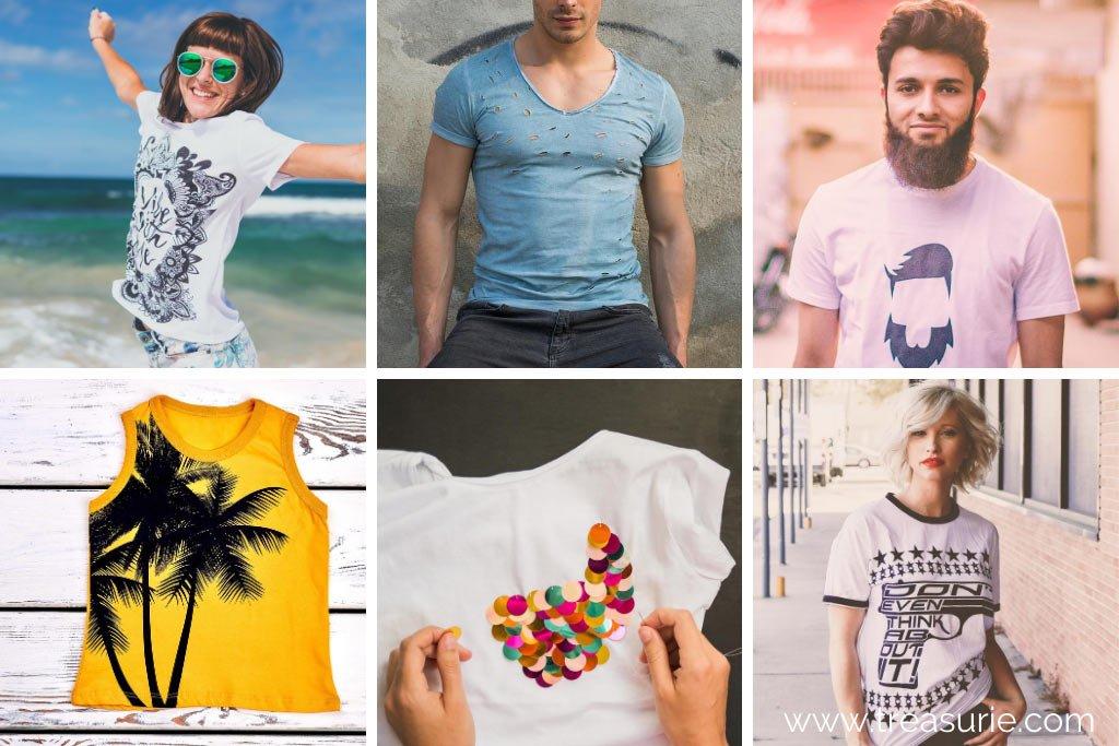 Types of T-Shirts Embellishments