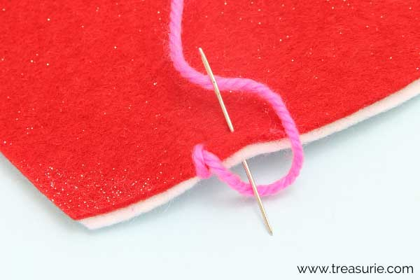 First Blanket Stitch