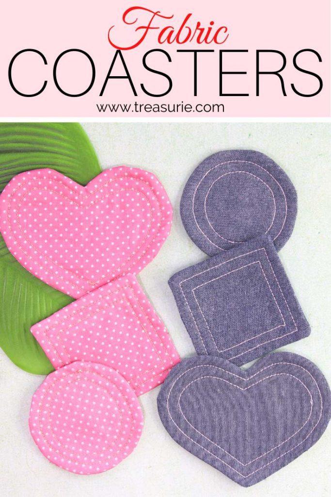 DIY Fabric Coasters