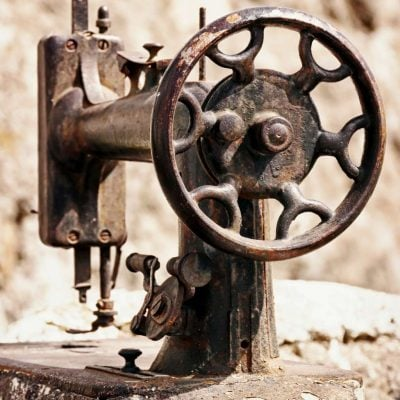 history of the sewing machine