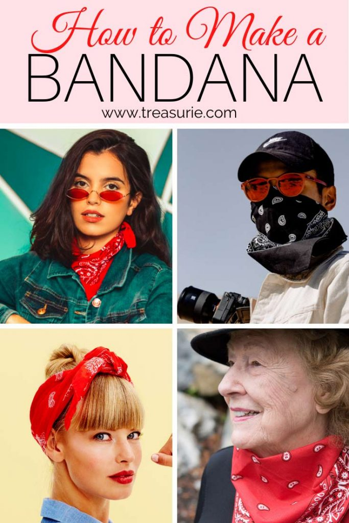 how to make a bandana
