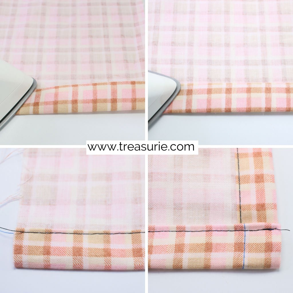 How to Make a Tablecloth Hems