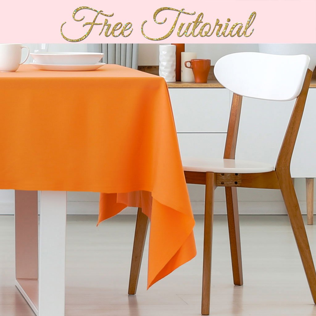How To Make A Tablecloth Any Size Or Shape Treasurie