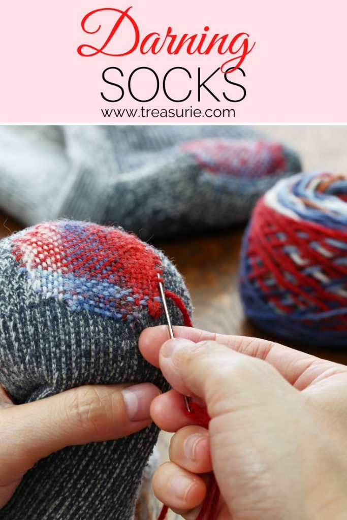 How To Darn A Sock Toe And Heel Treasurie