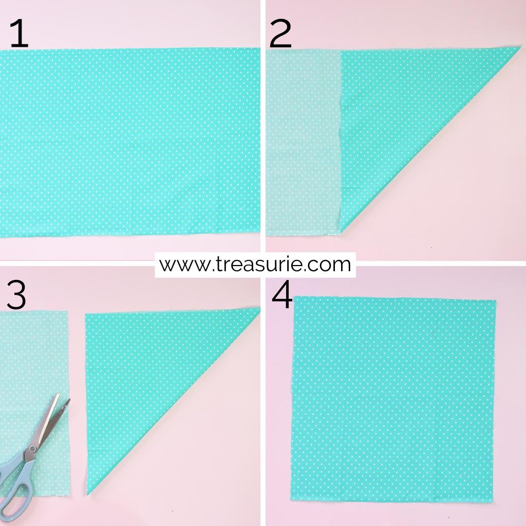 How to Make a Bandana Square