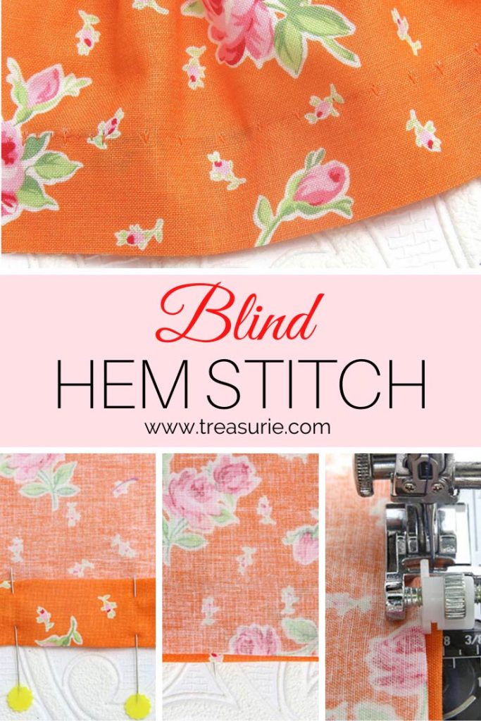 How to Hem Pants with a Blind Hem Stitch