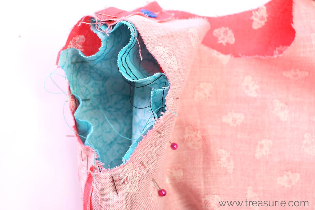 How to Sew a Sleeve - Armhole and Sleeve
