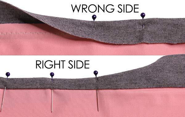 Knit Binding - Wrap