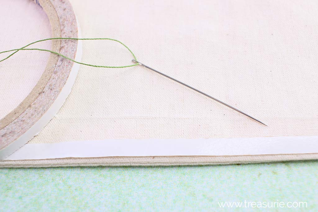 Mark the Stitching Line with Tape