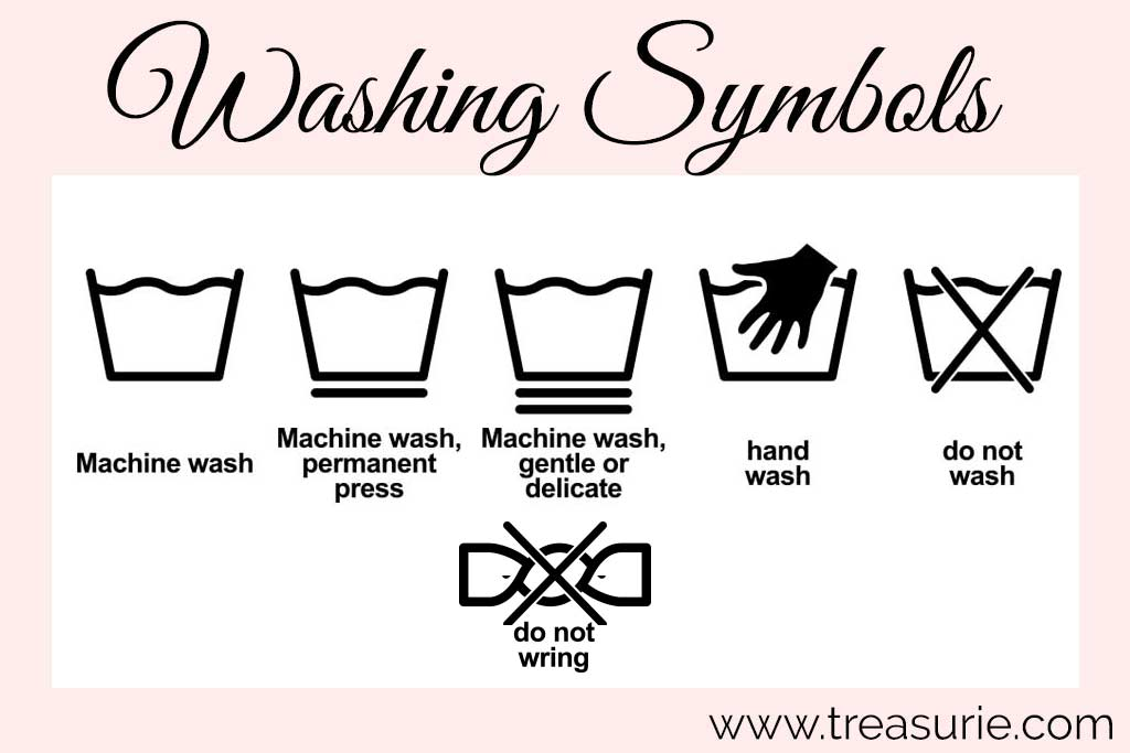 Laundry Symbols - Washing